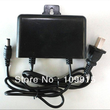 Black DC 12V Waterproof Power Supply Adapter For CCTV Surveillance Camera JS0046