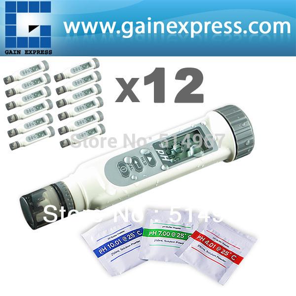 рН-метр 12 x + ph4.0 ph7.0 & ph10.0, 12 PH868-5 x 12 (lot 12)