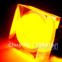 Orange  3W Acrylic square LED Ceiling Down Light  Fixure Lamp Bulb JS0054O