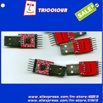 10pcs/lot  USB 2.0 to UART TTL 6PIN Connector Module Serial Converter CP2102   #E09031