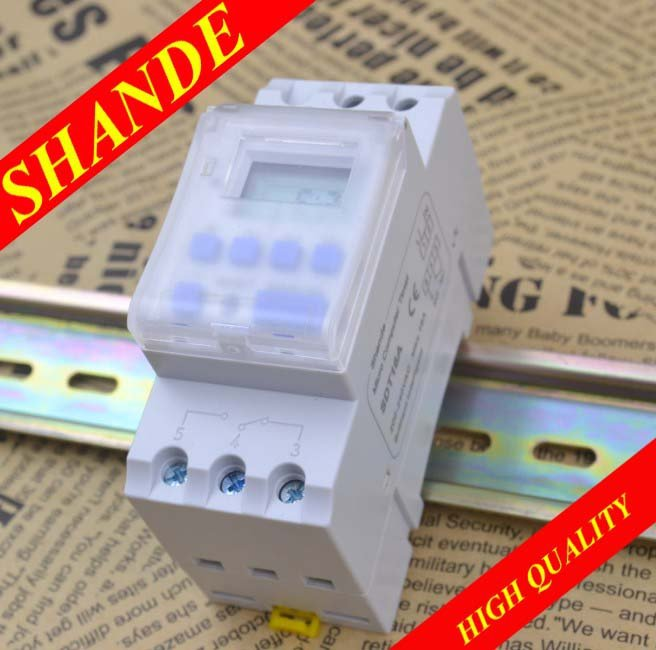 SDT16A Manufactuer 220V 110V 12V The 2nd updated digital timer better than THC15A DHC15A(China (Mainland))