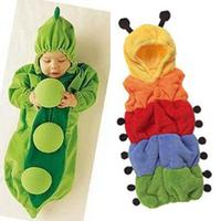 FREE SHIPPING Baby sleeping bag colorful caterpillar sleeping bag newborn pea sleeping bag baby anti tipi style clothing