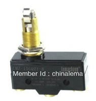 LZ15-GQ21-B panel mount cross roller  plunger micro limit switch 15A 250VAC,equivalent to Z-15GQ21-B ,LXW-511Q2,TM 1309