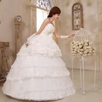 Top wedding 2013 new summer Korean flower decorative bow bride Princess ladies stomacher type bandage gauze free shipping