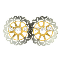 2XFront Brake Disc Rotor For CBR 600 F4 (US) F (UK) 99-00 VFR / INTERCEPTOR 800 98-10 CBR 900 F 03 RR 92-93