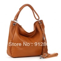 [ANYTIME] Factory Wholesale - Women's GENUINE LEATHER Stylish Handbag, Ladies First Layer Cowhide Cross-body Business Bag