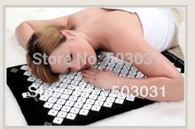 Wholesale Retail Shakti Mat Bed Nails Massager Mat Pilates Mat Yoga Mats acupressure With Pillow Black