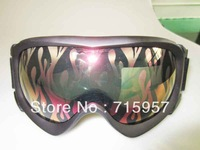 [New Arrvial] Free Shipping Unisex Snowboard Ski Goggle Double Lens AntiFog UV400 Protection CE Snow Glasses (Export to Japan)