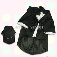 Large Dog Clothes Pet Product Dog Dress Dog Supplies Apparel for Pets Entleman Tuxedo Suit Pet Costume 1pcs/lot