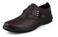 Specials recommended 45 46 47 plus size men's shoes men's casual shoes genuine leather shoes tide male shoes