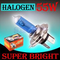 10pcs H4 Super Bright White Fog Halogen Bulb 55W Car Head Light Lamp External headlight  factory  auto parts   parking
