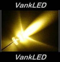 1000pcs New 3mm Round Ultra Bright Warm White LED Lamp