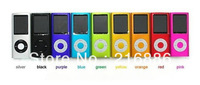 MP4 Players with screen 8GB 4th Gen MP3 mp4 player FM radio&Game&Ebook Free Shipping by DHL 15pcs/lot