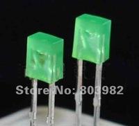 High brightness 2X3X4 green diffused led 2.0-2.5V 568-575NM DIP LED 1000PCS