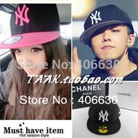 fashion unisex men's women's baseball cap, flat brim snapback caps, high quality free shipping by China post