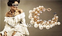 FREE SHIPPING (min order $15 mixed is ok) fashion pearls women bracelet