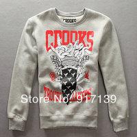 crooks and castles men's christmas sweaters hiphop clothes korean sweater men fashion clothing fleece hoodies sweatshirt robe