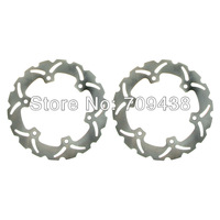 Front + Rear Brake Disc Rotor For HONDA SH i / ABS scooter 300 CC 2006-2009 Full Set