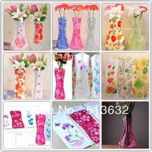 plastic flower vase promotion
