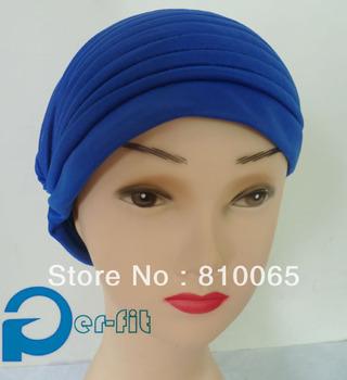 chemo bonnet cancer hat scarf Turban HeadWrap head cover Hat Bandana 9 Colour 20pcs/lot free ship