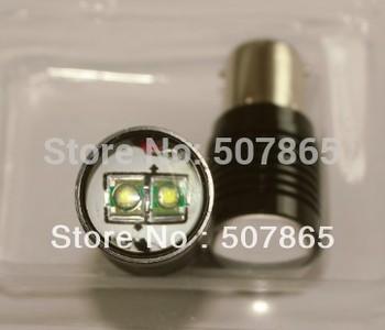 Free Shipping SUPER BRIGHT 10W CREE Canbus no error  free Led Car Turn/ Indicator/ Reverse/ Brake Light Bulb Lamp 1156 BA15S