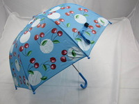 1 piece cherry pattern children umbrella