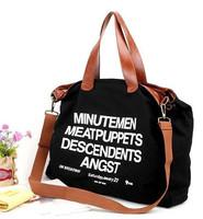 Fashion ladies should bag hot sale tote bag casual canvas big bag handbag free shippment factory price Free Shipping W1236