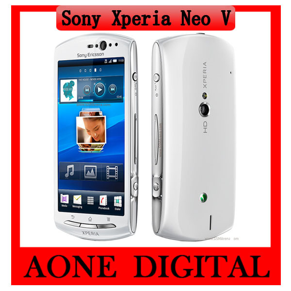 Original Sony Ericsson Xperia Neo V MT11 5MP WIFI GPS 1GHz CPU Unlocked Smartphone Free Shipping(China (Mainland))