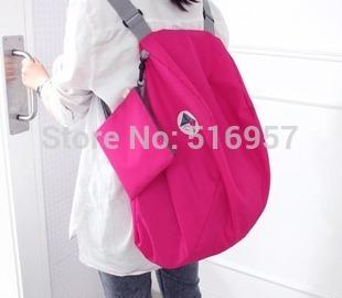 Nylon Foldable Women Travel Bags Large Capacity Luggage Travel Bags Backpacks Mochila Travel Bag Free Shipping(China (Mainland))