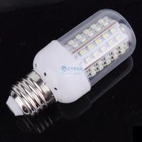 NEW 3W SMD3528 66-LED White E27 Bulb Lamp Light 200~240V  3087