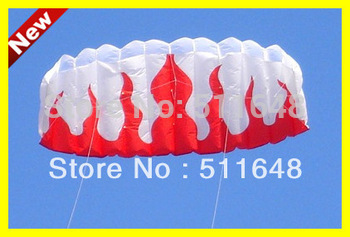 Free Shipping Real Sample New Design Sport Flame Long Popular Flying Power Kites
