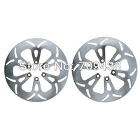 Front + Rear Brake Disc Rotor For SUZUKI VS1400 GL/GLP Intruder 87-04 VS1400 GLP Intruder 05-08 Full Set