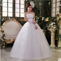 2014 Fashion Rhinestone Flower Bride Wedding,Sweet princess Wedding Dress