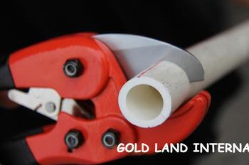 L21cm 10pcs/lot Free shipping hand tools plastic/ PVC pipe cutter scissor cutting 3cm PVC pipe