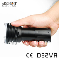 ARCHON Underwater Light D32VR White CREE XM-L U2 LED *2 LED Max 1400 Lumens Red CREE XP-E N3 LED*2 Max 200 Lumens Diving Linght