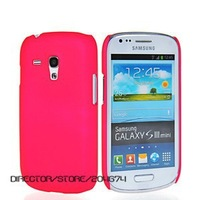 DIRECTOR DHL Free 100pcs/lot Rubberized Hard Cover Case for Samsung Galaxy S3 S III mini i8190,For Samsung i8190 case