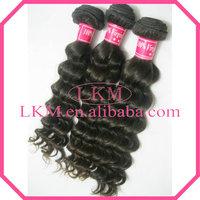 """Free Shipping 4pcs(12""""-30"""") or mix 4pcs lot 100% Virgin Hair, Peruvian Virgin Hair Deep Wave No Knots, 95-100g/pcs"""