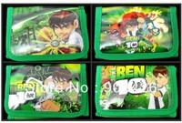 Free Shipping by DHL ! Fashion Ben 10 Wallet Cartoon Kid's Purse Children Wallet G2097 on Sale  Wholesale