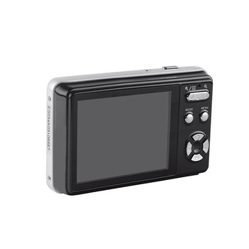 Slim Mini 2.7-Inch TFT LCD Digital Camera, 4X Digital Zoom, Anti-shake, Face Detection
