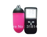 Free Shipping - 10 Speed LCD Wireless Remote Vibrator Vibrating Egg Bullet, G Spot Stimulator Sex Vibrator Vagina Toy F015