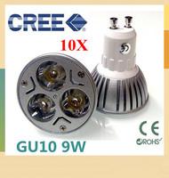 10X High Power Dimmable GU10 / E27 / E14 / GU5.3 /MR16  9W  12w 15w Spotlight Lamp CREE LED 85~265V Light Bulb Downlight