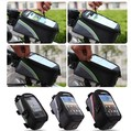 New Wholesale Waterproof Cycling Sport Bike Accessories Bicycle Frame Pannier Front Tube Bag For Cell Phone Red / Blue / Green