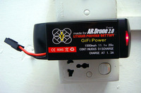 Free shipping 1500mah 11.1V LIPO battery,New Parrot AR.Drone 2.0 App-Controlled Quadricopter