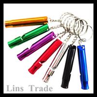 New 1PCS aluminium outdoor survival whistle #8187