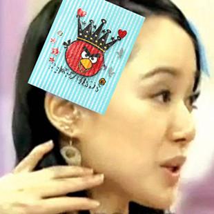 Hot Cheap Magic Famous Cartoons Printed Hair Bangs Posts Fixed Seamless Hair Fringe Stickers Princess Hair Shop Hair Accessories(China (Mainland))