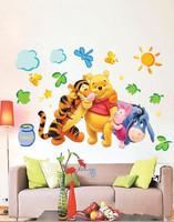 Cheap Cartoon Animal PVC Wall Sticker ,Wall Decal ,Wallpaper, Room Sticker, House Sticker Free Shipping ,X51
