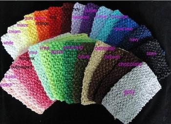 "Baby girls cute top 6"" crochet tube tops dhl free shipping  In Stock -60pcs/lot"