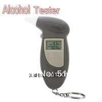 Freeshipping dropshipping by DHL Key Chain Alcohol Tester, Digital Breathalyzer, Alcohol Breath Analyze Tester (0.19% BAC Max)