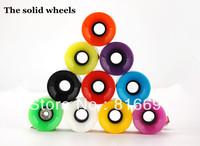 Penny skateboard Wheels longboard wheel Nickel Skateboard wheel wheels for penny skateboard Free Shipping (4pcs/lot)