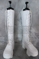Vocaloid Luka Military Senbonzakura    cosplay shoes boots  Custom-Made   S00064
